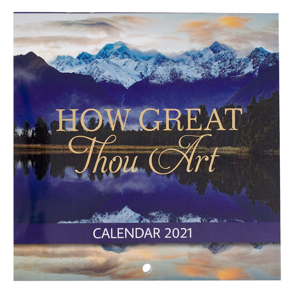 How Great Thou Art 2021 Small Wall Calendar