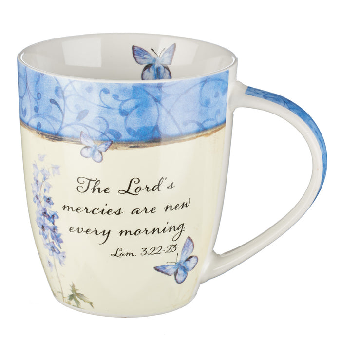 His Mercies Are New Every Morning  Coffee Mug - Lamentations 3:22-23
