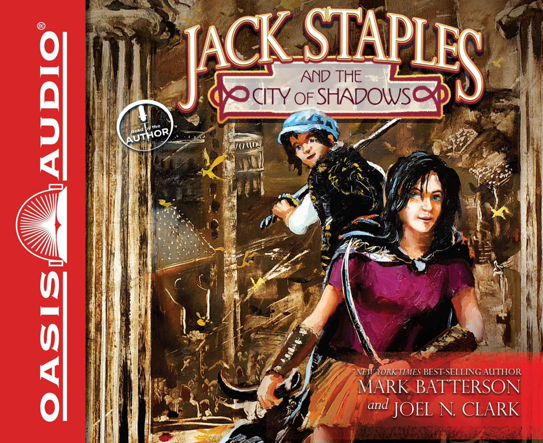 Jack Staples and the City of Shadows (Library Edition)