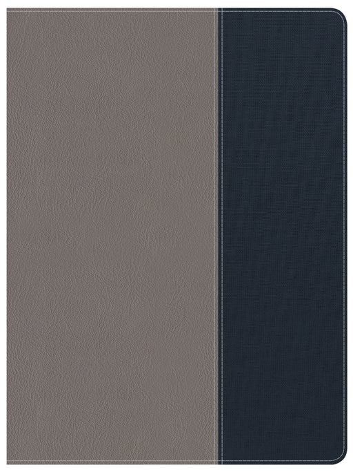 CSB Apologetics Study Bible for Students, Gray/Navy LeatherTouch, Indexed
