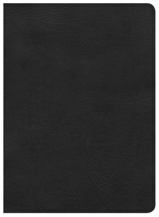 CSB Study Bible, Premium Black Leather