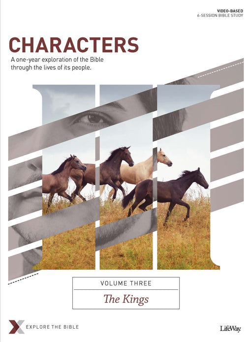Characters Volume 3: The Kings - Bible Study Book