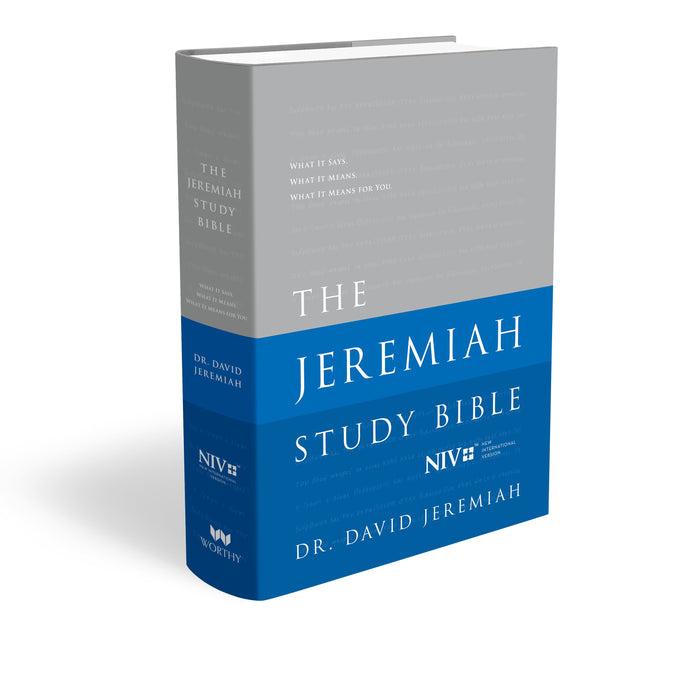The Jeremiah Study Bible, NIV: Jacketed Hardcover
