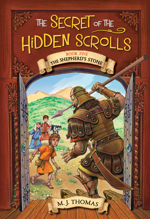 The Secret of the Hidden Scrolls: The Shepherd?s Stone, Book 5