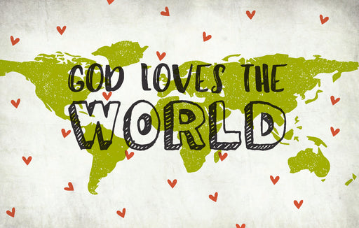 Bible Studies For Life: Kids God Loves the World Postcards Pkg. 25