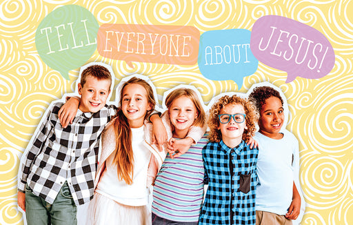 Bible Studies for Life: Kids Tell Everyone Postcard Pkg 25