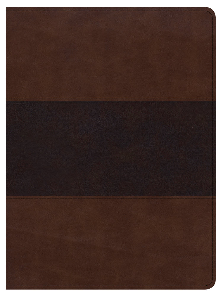 CSB Apologetics Study Bible, Mahogany LeatherTouch
