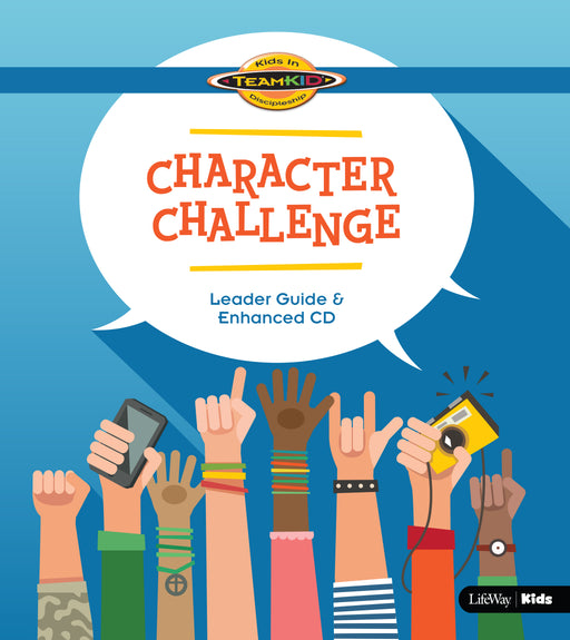 TeamKID: Character Challenge - Leader Guide & Enhanced CD