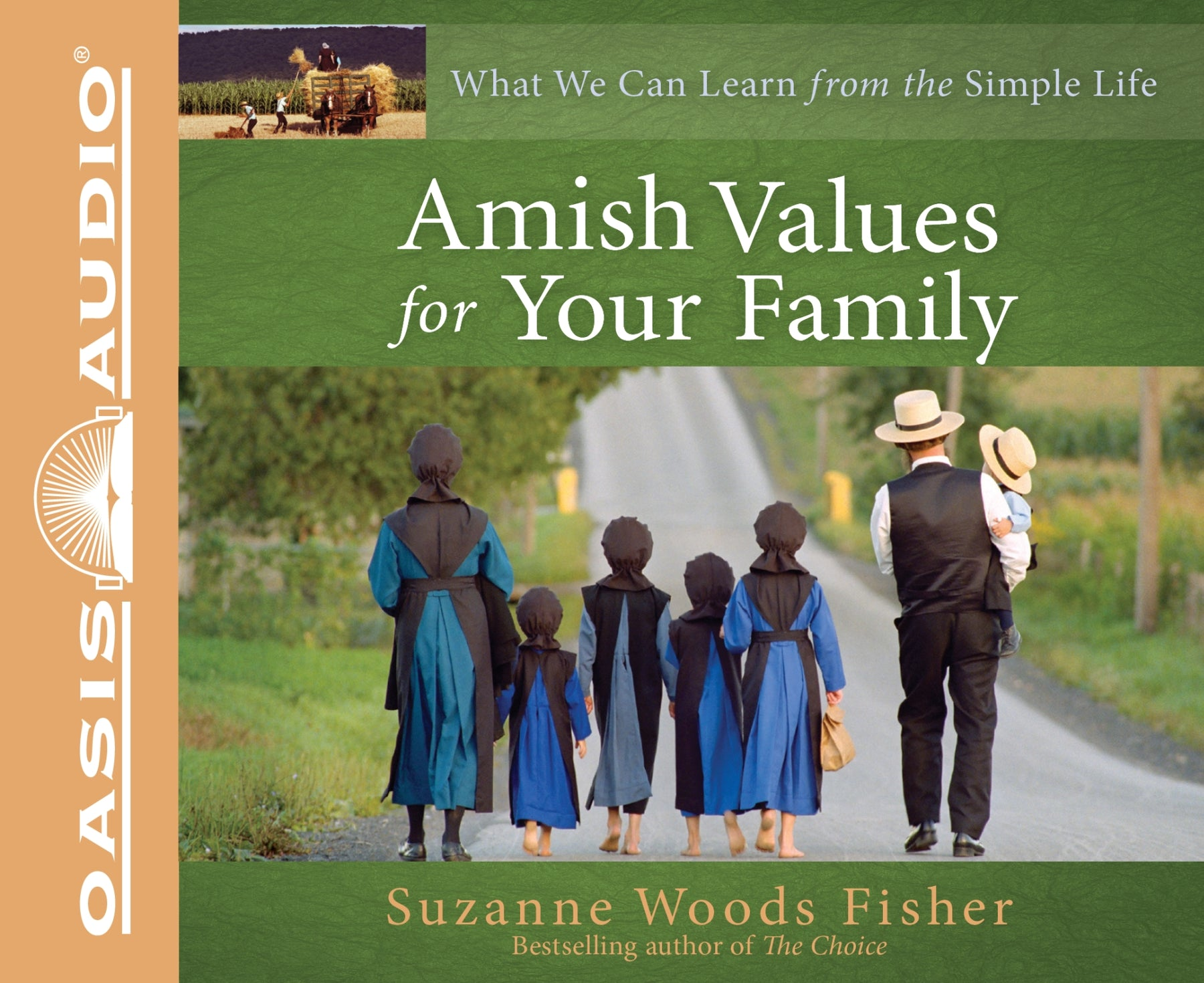 Amish Values for Your Family (Library Edition)