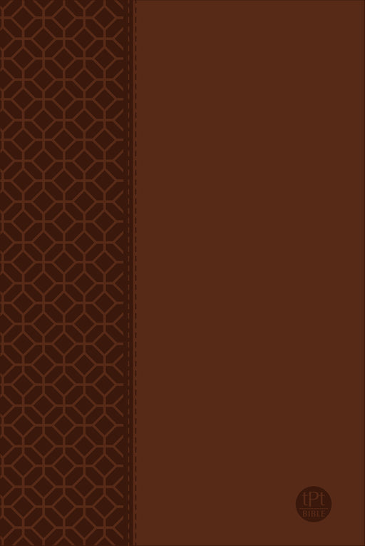 The Passion Translation New Testament (Large Print) Brown