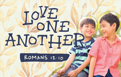 Bible Studies for Life: Kids Romans 12:10 Postcard Pkg 25