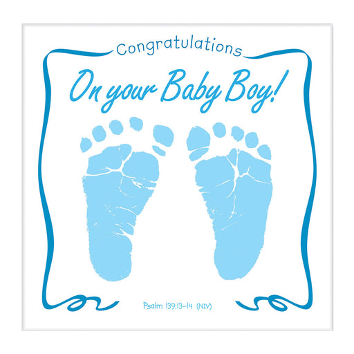 Baby Boy CD/Greeting Card