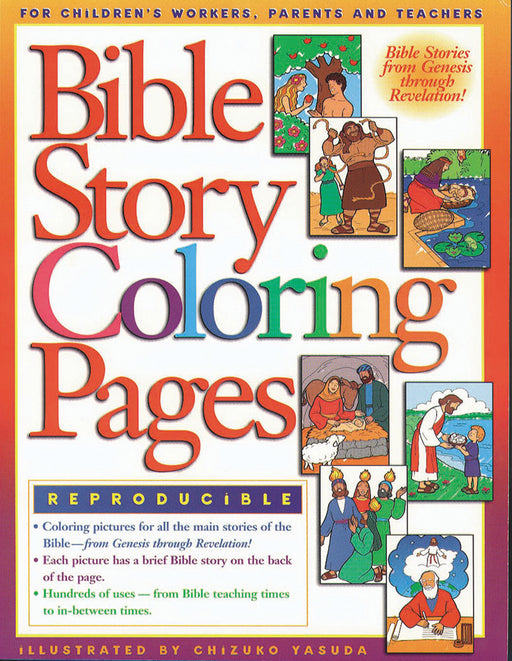 Bible Story Coloring Pages 1
