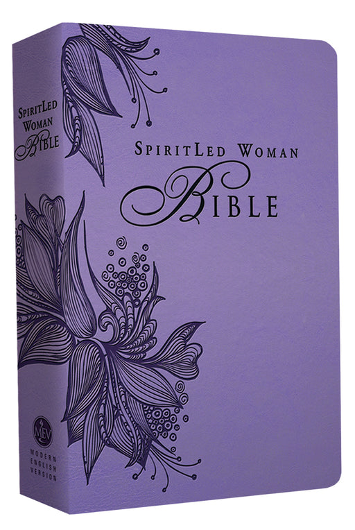 MEV Bible SpiritLed Woman Lavender Leatherlike
