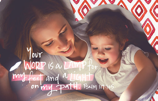 Bible Studies for Life: Kids Psalms 119:105 Postcard Pkg 25