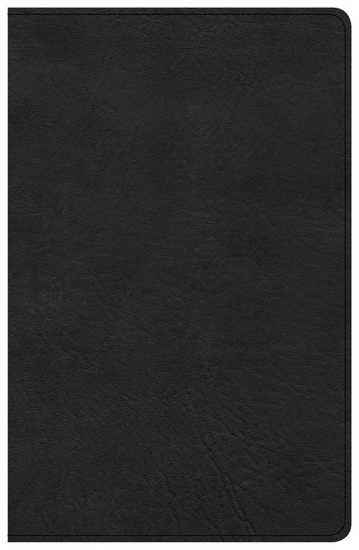 CSB Single-Column Personal Size Bible, Black LeatherTouch