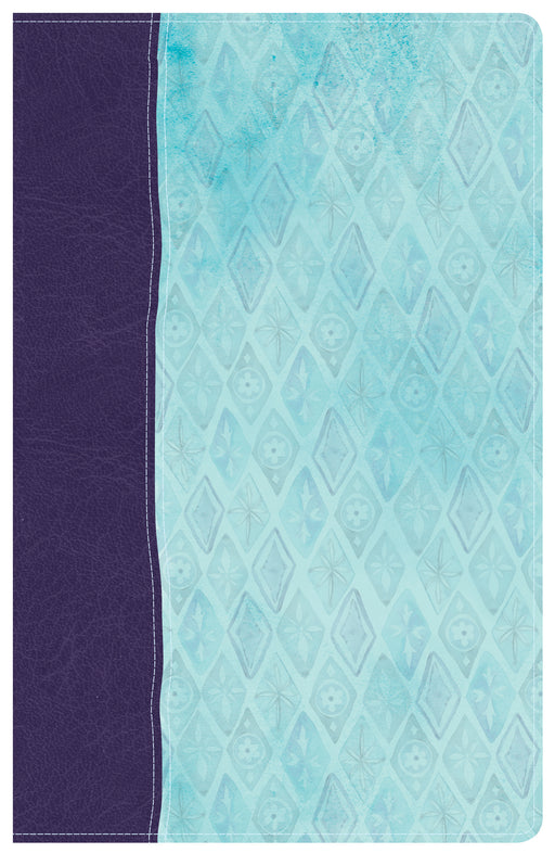 NKJV Daily Devotional Bible for Women, Purple/Blue LeatherTouch
