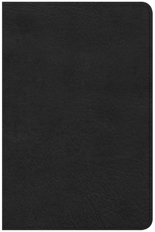 CSB Compact Ultrathin Bible, Black LeatherTouch