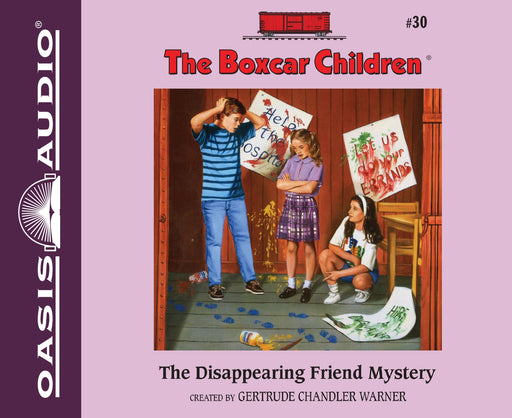 The Disappearing Friend Mystery (Library Edition)