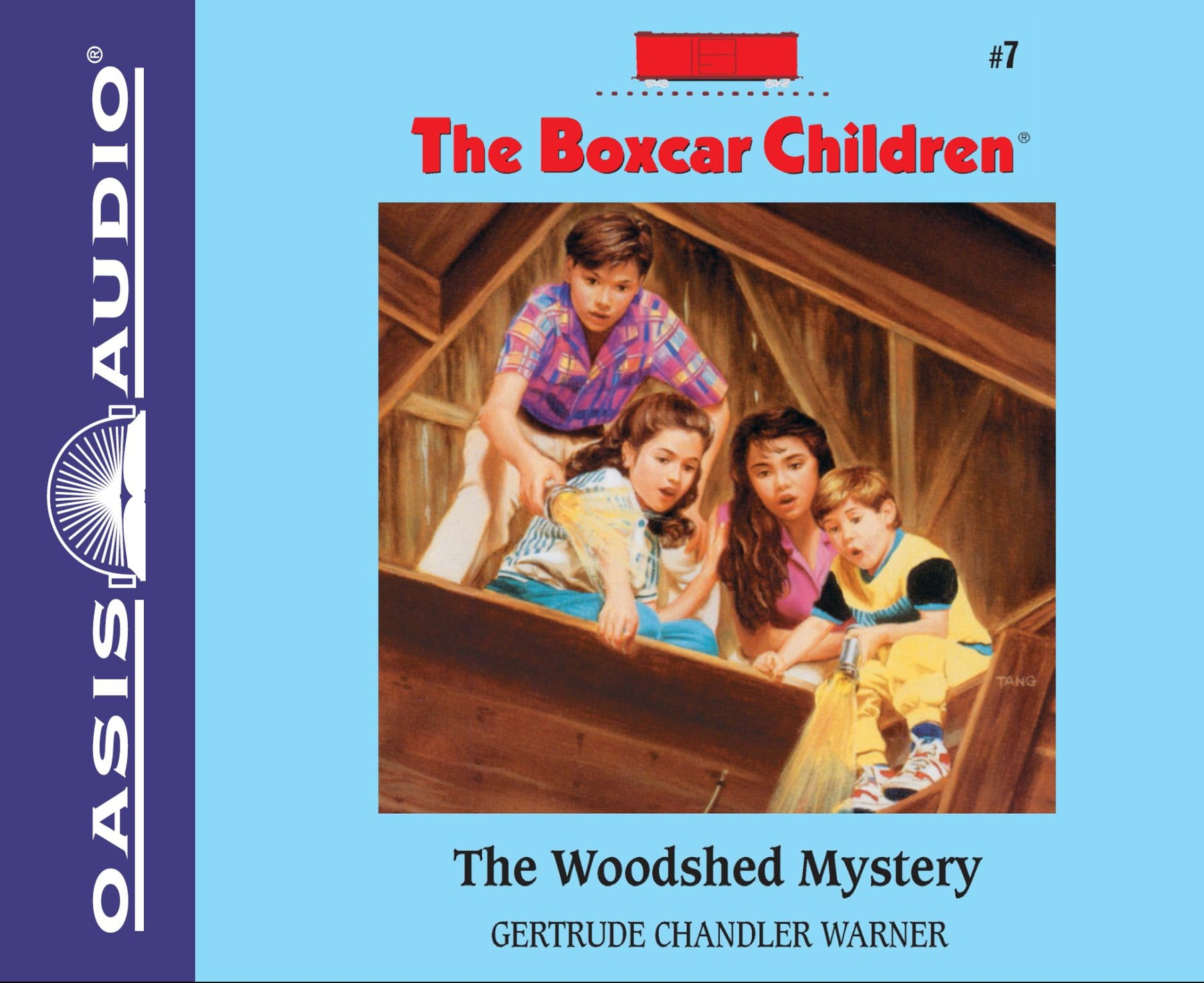 The Woodshed Mystery (Library Edition)