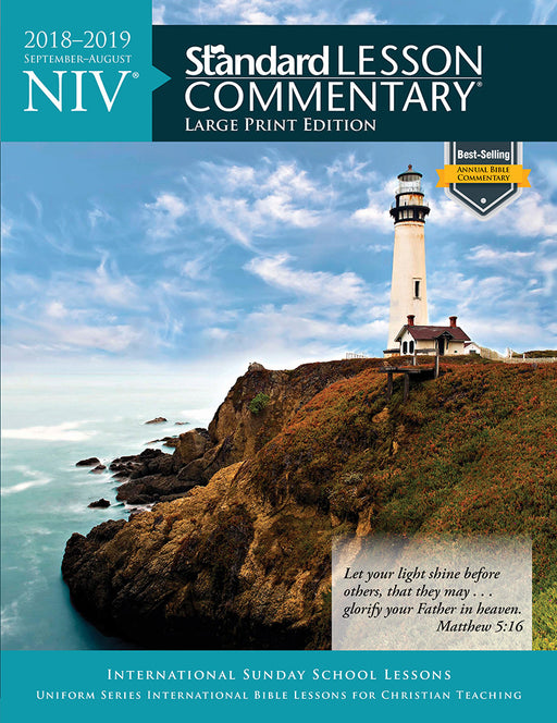 NIV® Standard Lesson Commentary® Large Print Edition 2018-2019