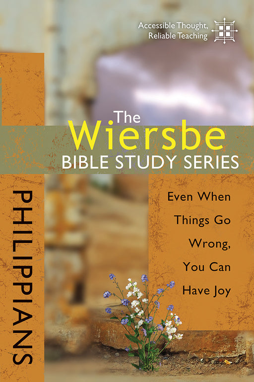 The Wiersbe Bible Study Series: Philippians