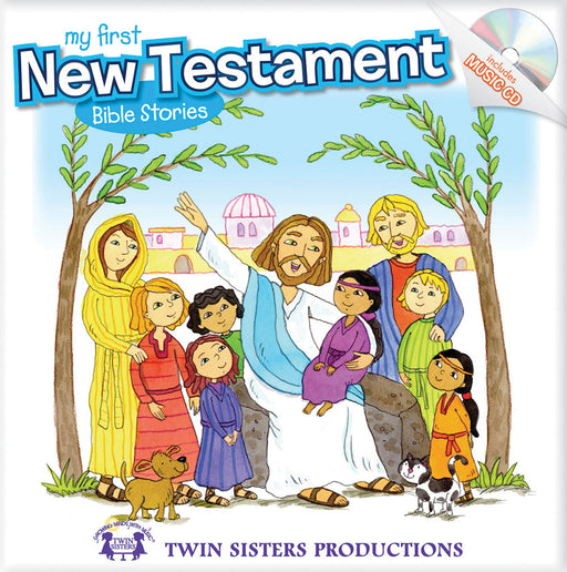 My First New Testament Padded Board Book & CD