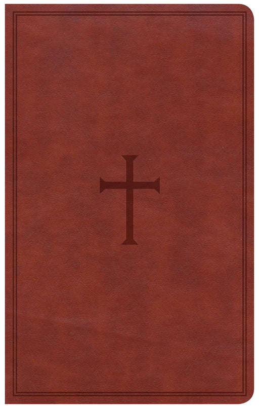 CSB Ultrathin Reference Bible, Brown LeatherTouch, Indexed