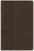KJV Ultrathin Reference Bible, Value Edition, Brown LeatherTouch