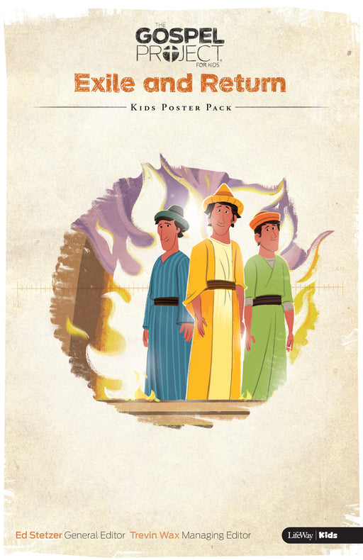 The Gospel Project for Kids: Kids Poster Pack - Volume 6: Exile and Return