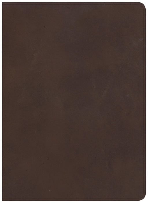 CSB Study Bible, Brown Genuine Leather