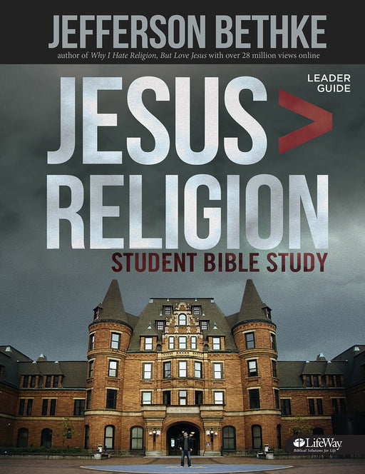 Jesus > Religion -  Student Leader Guide