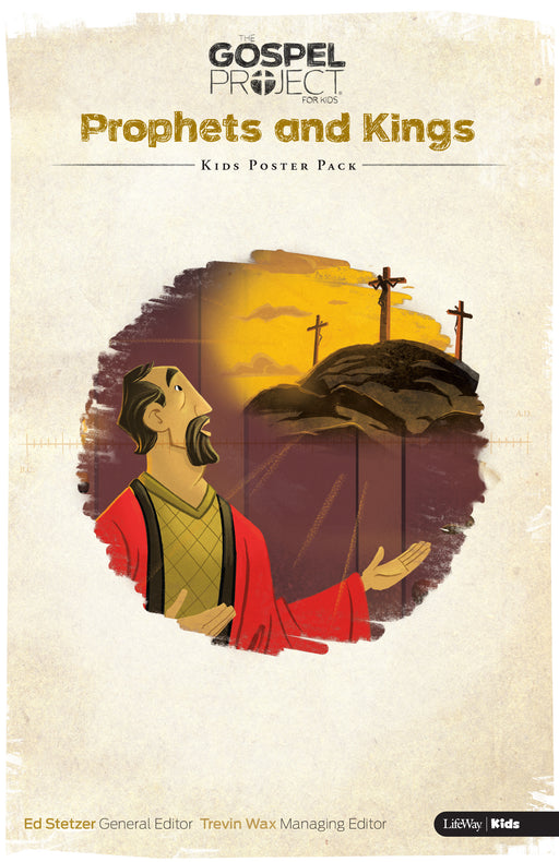 The Gospel Project for Kids: Kids Poster Pack - Volume 5: Prophets and Kings