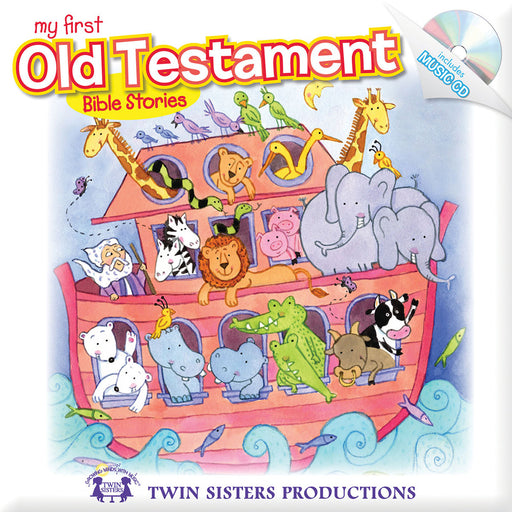My First Old Testament Padded Board Book & CD
