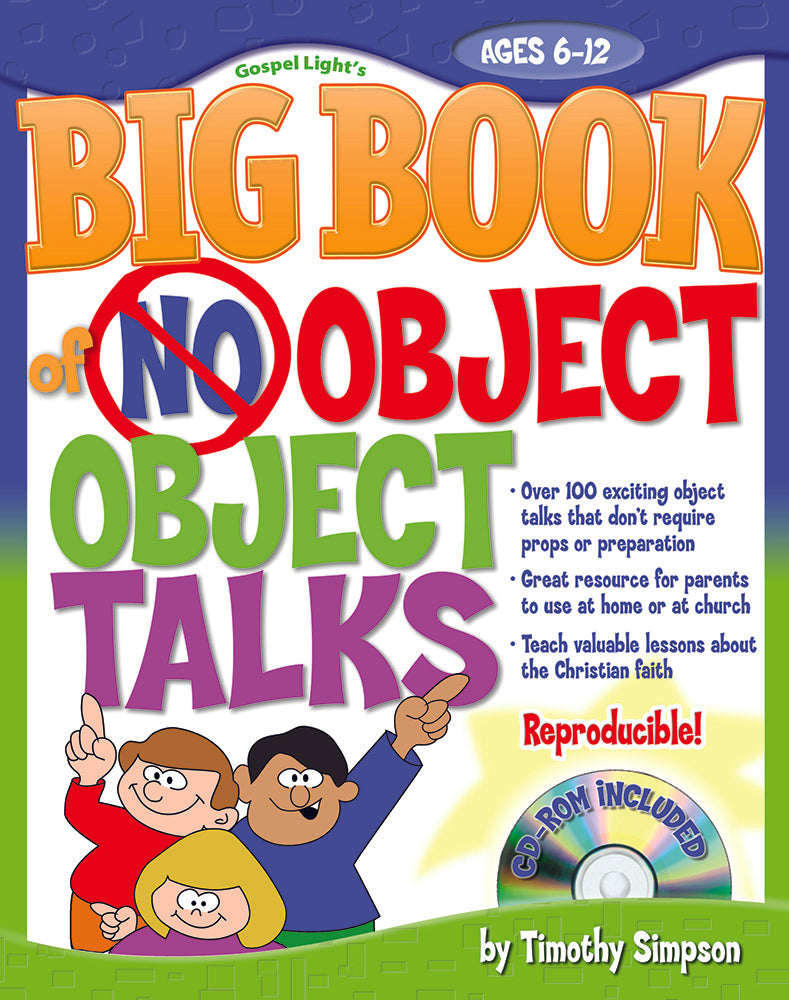 The Big Book of Object Talks with No Props (with CD-ROM)