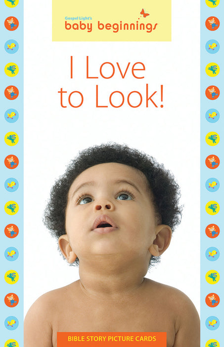 I Love to Look! Bible Story Picture Cards (Baby Beginnings)