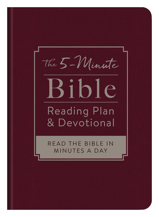 The 5-Minute Bible Reading Plan and Devotional