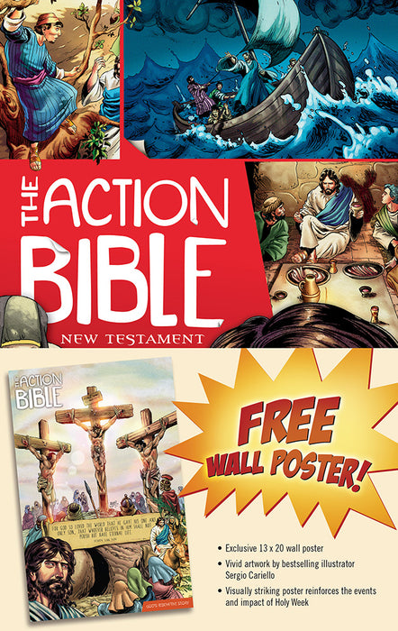 The Action Bible New Testament Bonus Poster Pack