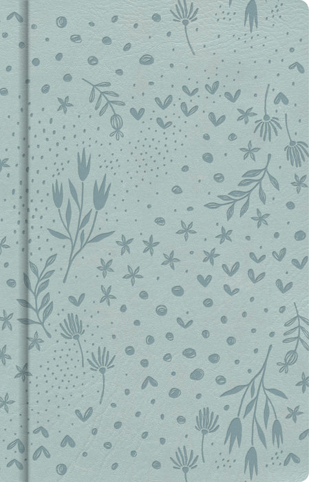 Pale Blue Floral, Journal