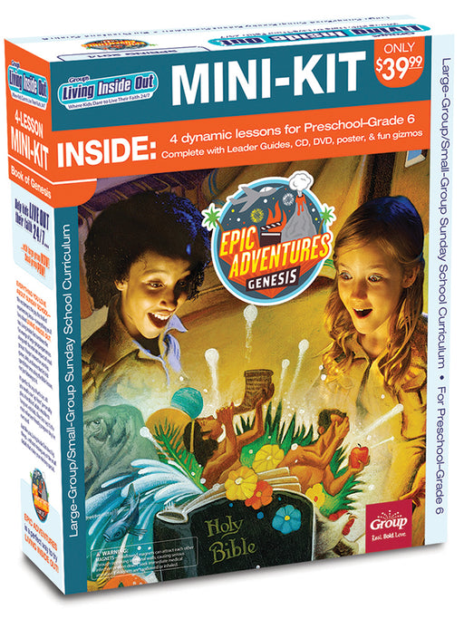 Living Inside Out: Epic Adventures 4-Lesson Mini-Kit
