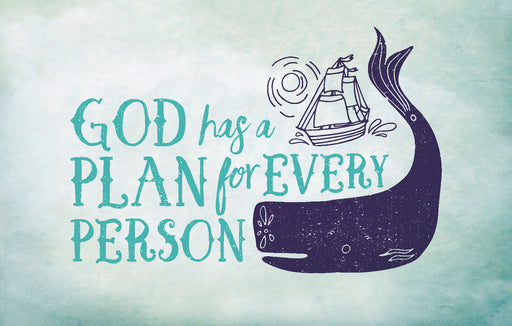 Bible Studies For Life: Kids God Has a Plan Postcards Pkg. 25