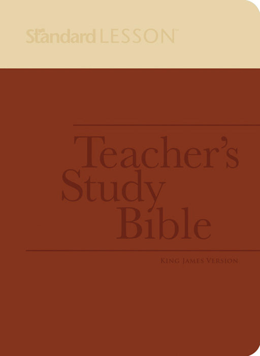 Standard Lesson Teacher's Study Bible—King James Version (DuoTone Edition)