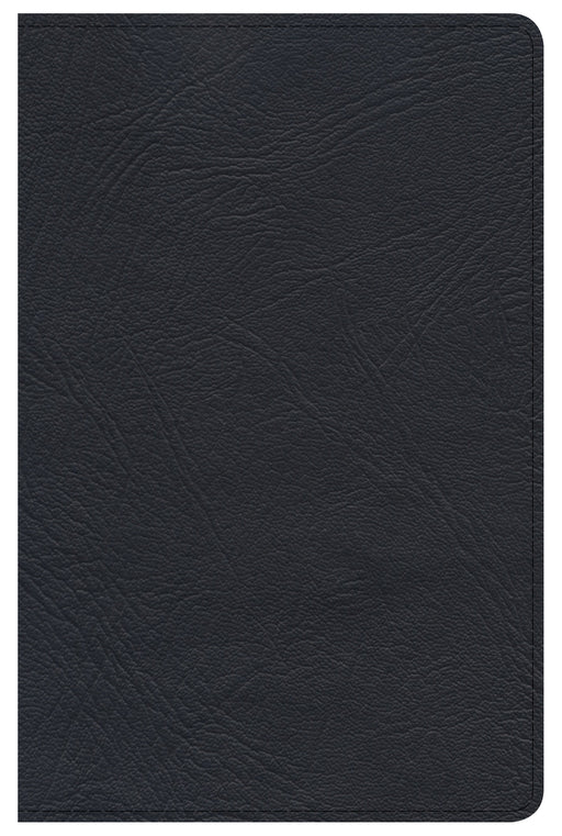 Minister's Pocket Bible: NKJV Edition, Black Genuine Leather