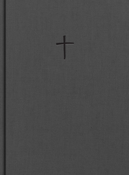 CSB Apologetics Study Bible, Charcoal Cloth Over Board, Indexed