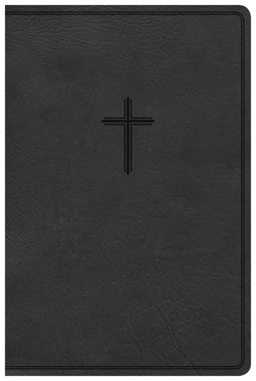 KJV Everyday Study Bible, Black LeatherTouch