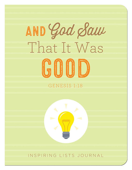 And God Saw That It Was Good (Genesis 1:18)