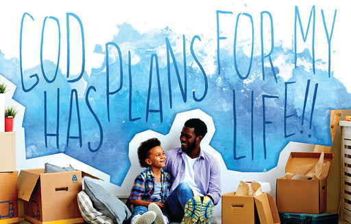 Bible Studies for Life: Kids God Has Plans Postcard Pkg 25