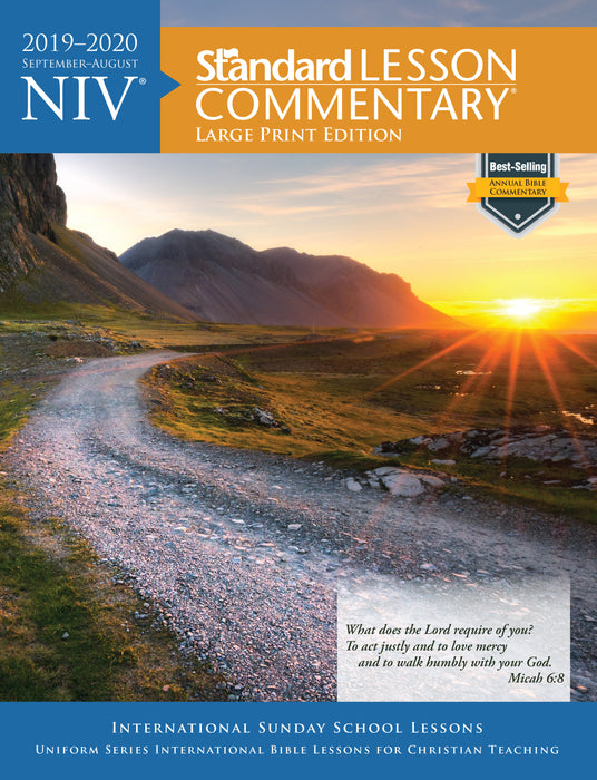 NIV® Standard Lesson Commentary® Large Print Edition 2019-2020