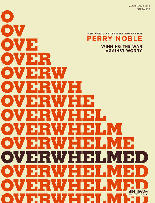 Overwhelmed - Bible Study Kit