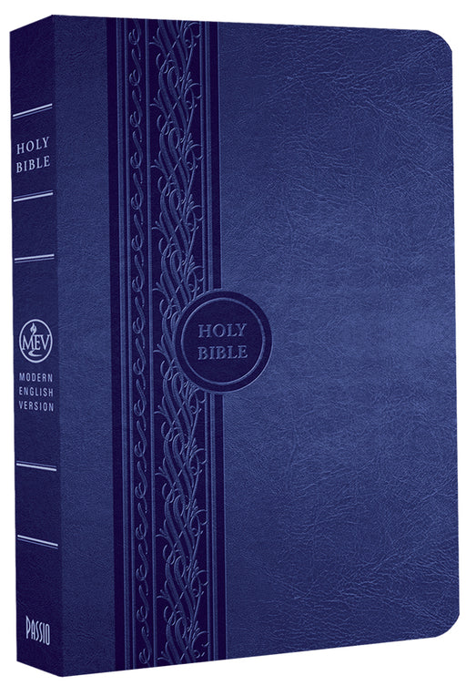 MEV Bible Thinline Reference Blue